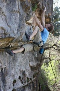 """Projecting """"Block Party"""" (5.13a)"""