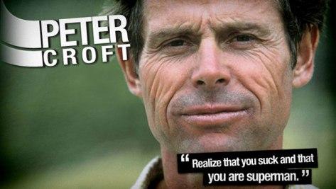 Peter Croft, always inspiring
