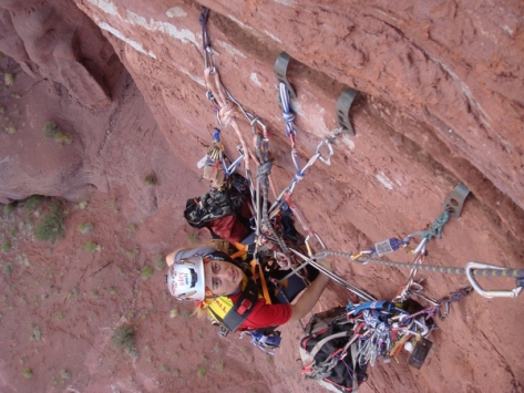 "On Belay? - ""No"" - Climbing! - ""whatever, dude screw this anchor, and screw you"""