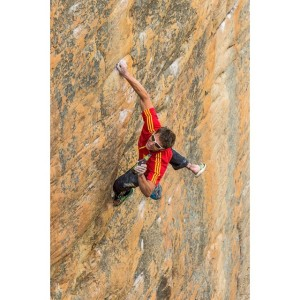 "Ben Rueck engaging in shenanigans on ""Lord of the Rings"" (5.13d)"