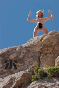 Michael Reardon soloing at Joshua Tree